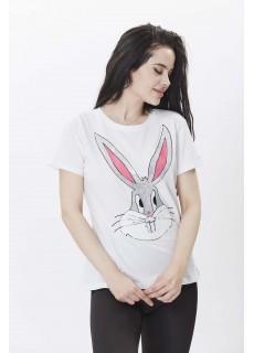 Bugs Bunny Baskılı Tshirt